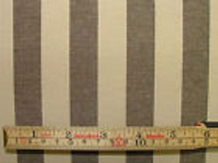 Prestigious Textiles Brown & Cream Ticking Curtain /Upholstery Fabric